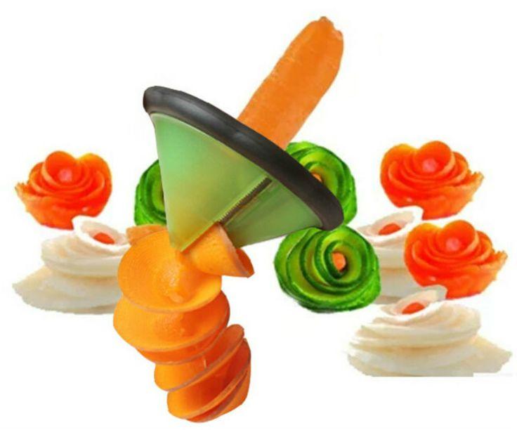 Creative fruit vegetable Peeler slicer Grater Cooking Tools Kitchen Gadget Carve Volume Flower Spiral Cutter kitchen accessories #Affiliate