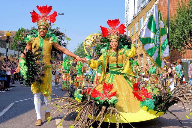 Nottinghill carnival in west London