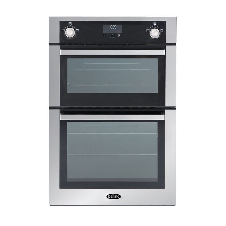 Built-in 90cm dual fuel multi-function oven - natural gas #Belling #UKmade #madeinBritian #British #oven