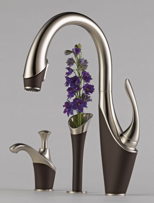 Awesome Graceful Kitchen Faucet From Brizo