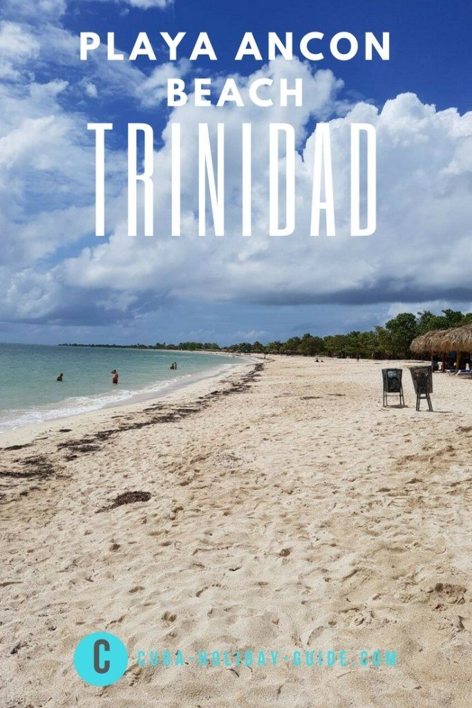 As we have a car it was a quick 10min drive out of Trinidad to Playa Ancon beach. The water was nice and warm, the beach was big with plenty of room for everyone.