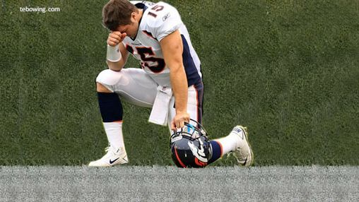 Just because Tebow is a religious man, doesn't mean you have to be. So next time you are struggling through the first 3 and 1/2 quarters of a boring Broncos game and waiting for that inevitable final drive when Tebow teams up with God to inexplicably score the winning touchdown, try out this drinking game to pass the time.