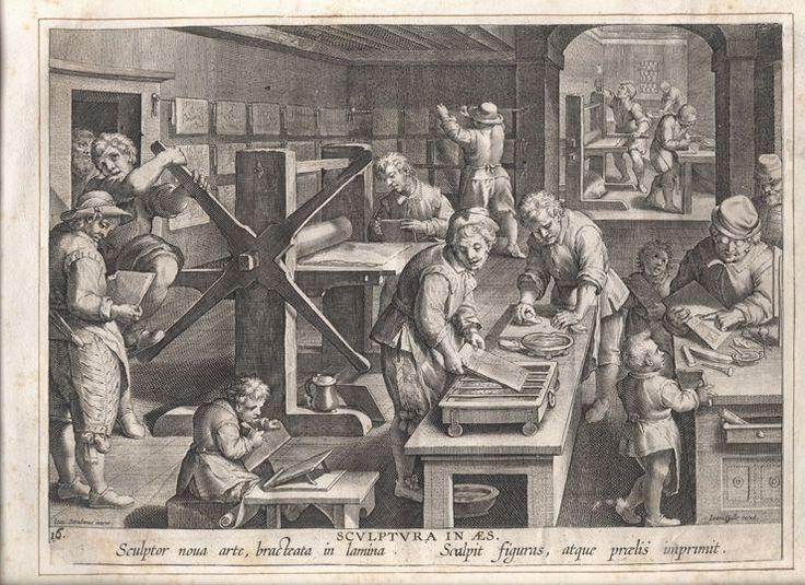 het begin van de boekdrukkunst begon rond 1455. door de uitvinding van de drukpers konden de wetenschappers veel sneller en makkelijker hun ideeen verspreiden. dit lazen anderen wetenschappers ook en daardoor kregen zij nieuwe ideeen voor nieuwe uitvindingen (wetenschappelijke revolutie)