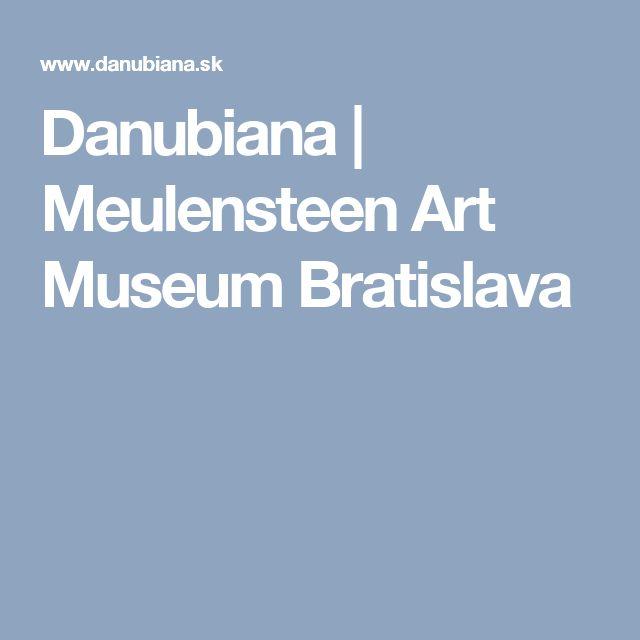 Danubiana | Meulensteen Art Museum Bratislava