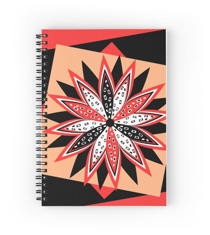 A flower on top by cocodes. Write your personal notes on this beautiful notebook. Find more on Redbubble. http://www.redbubble.com/people/cocodes/works/21696423-a-flower-on-top