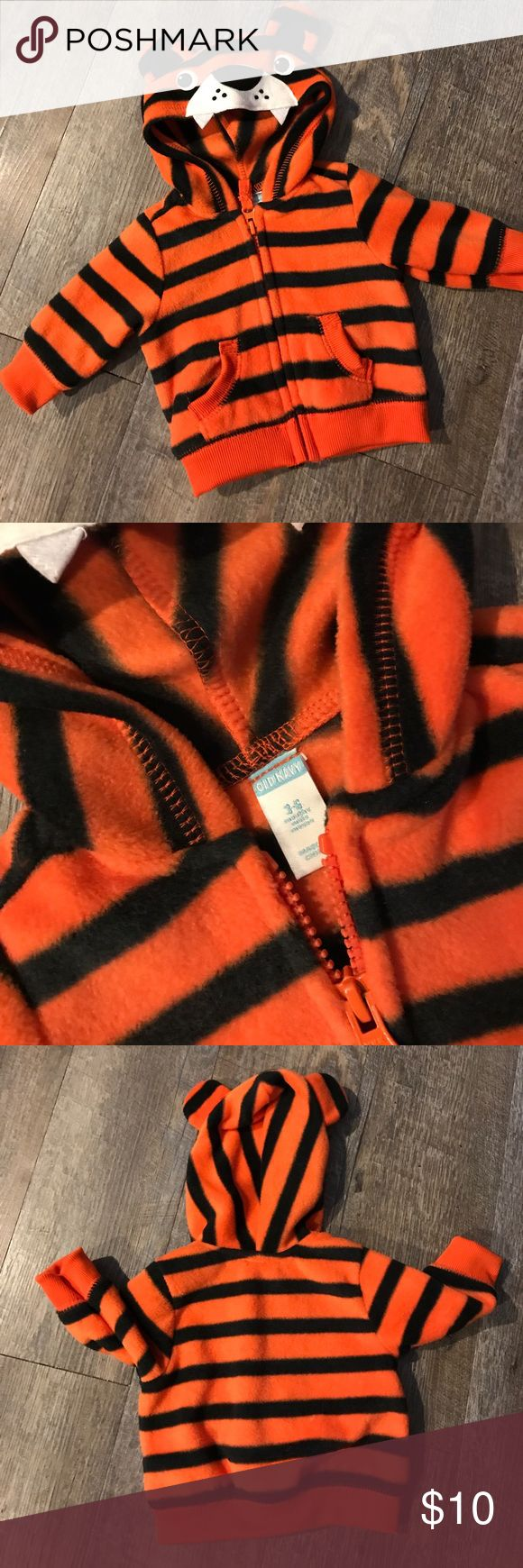 ⚡️Final Price⚡️Old navy tiger hoodie 3-6m New without tags! Never worn. Old Navy Jackets & Coats