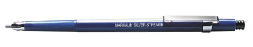 Markal 96107 Silver-Streak Round Metal Marker with 6 Refills - Markal Silver-Streak metal markers are ideal when highly-visible, torch-resistant marks are required during metal layout and fabrication work. The unique reflective lead is more visible through a welder's filter plate and will not rub, burn or blow off like soapstone. Marks on all metal surfaces ...