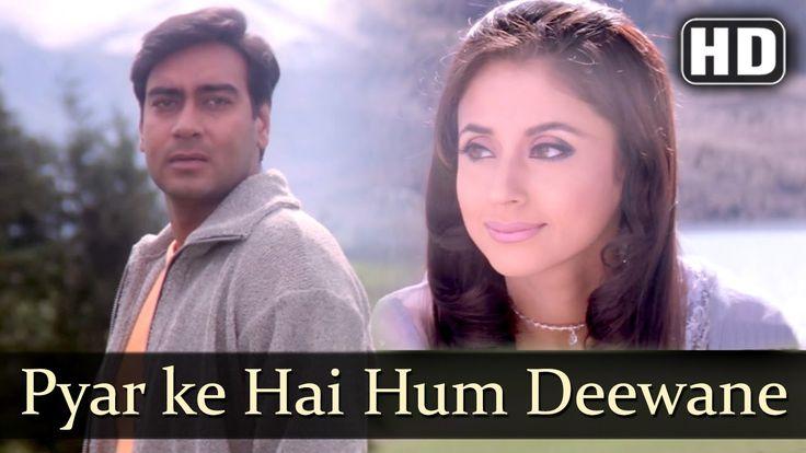 Pyar Ke Hai Hum Deewane | Deewane Songs | Ajay Devgan | Urmila Matondkar | Kumar Sanu | Filmigaane - YouTube