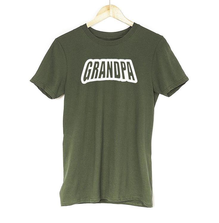 £9.99 Grandpa T Shirt Father Pregnant Wife Present For Husband Father Dad Grandad tee #Get2wear #grandparentsday #grandpa #dad #tshirt