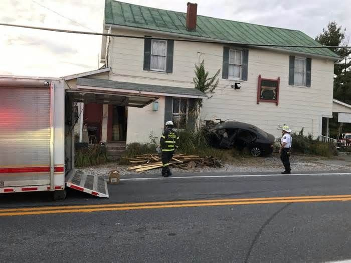 Car strikes antiques business in Howard County, one injured But it seemed at least possible that the crash might have tipped or toppled some items of cherished furniture. According to the fire department the building struck by the vehicle houses a business called Sand Hill Antiques. A sign on the side of the ...