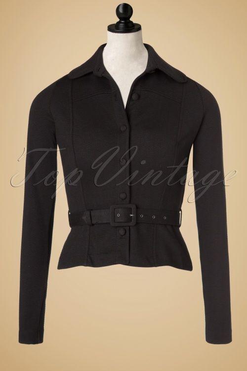 King Louie Isabella Jacket in Black 153 10 19054 20160919 0003pop
