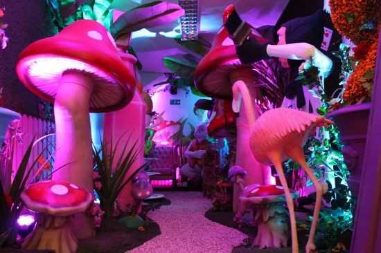 Alice in Wonderland Party Theme   Props, Ideas, Decorations  Supplies: 5ft 3D Toadstool
