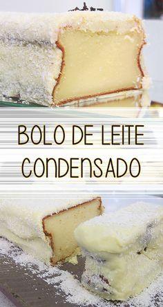 Receita de Bolo de leite condensado   Um bolo incrivelmente saboroso que vai surpreender todo mundo