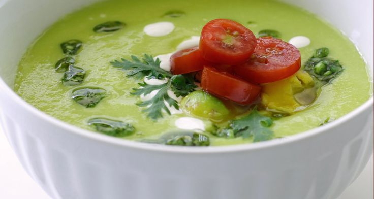 It may be getting warm outside, but it's always soup time! Try this Avocado And Watercress Soup for a soup perfect for springtime! http://gustotv.com/recipes/soups/avocado-watercress-soup/