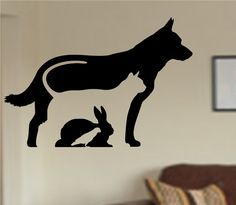 Animal Care Veterinarian Vinyl Wall Decal Sticker Car Window Truck Decals