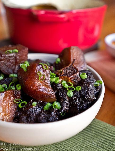 Korean Sweet Soy Braised Oxtail Via Flickr