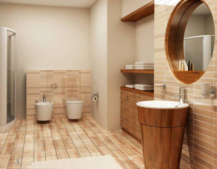 cozy wooden bathroom designs that you would love to have in your house