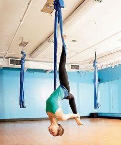 Ariel Yoga - looks like fun
