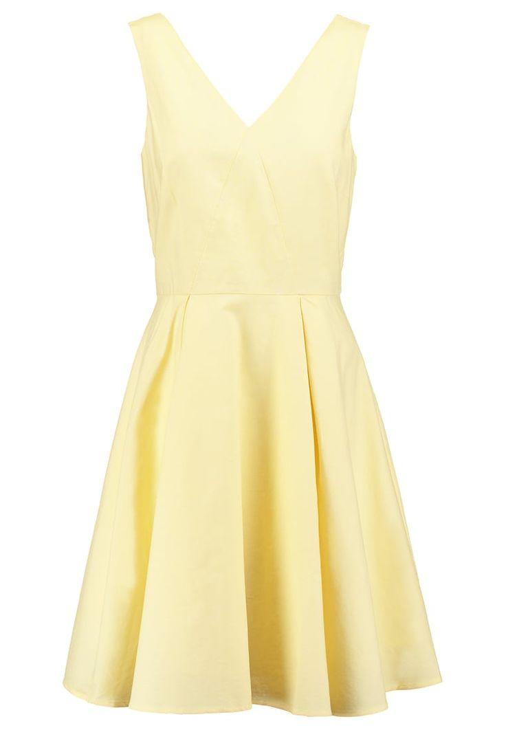 Robes mint&berry Robe d'été - pale banana jaune clair: 60,00 € chez Zalando (au 11/04/16). Livraison et retours gratuits et service client gratuit au 0800 740 357.