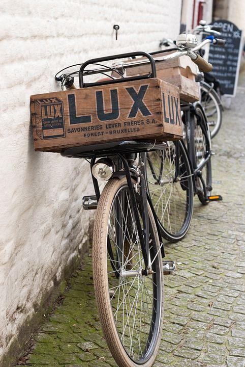 Mooi vintage kratje geheel in stijl met de fiets