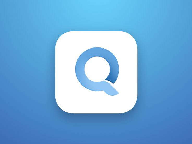 Q Sharp App Icon by Ron Design