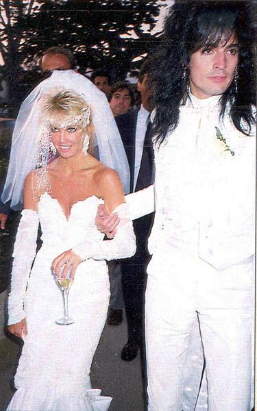 Heather Locklear Tommy Lee Wedding Google Search
