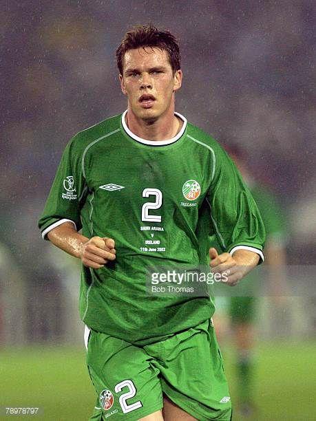Football 2002 FIFA World Cup Finals Yokohama Japan 11th June 2002 Saudi Arabia 0 v Republic of Ireland 3 Steve Finnan Ireland