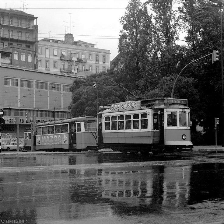 Lisboa com chuva, Santos (T. Boric, 1978)