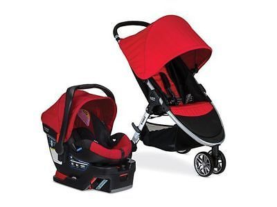 Other Strollers 2989: Britax 2016 B-Agile B-Safe 35 Travel System, Red -> BUY IT NOW ONLY: $240.98 on eBay!