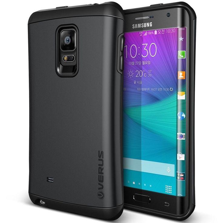 Verus Samsung Galaxy Note Edge Case Thor Series - Charcoal Black