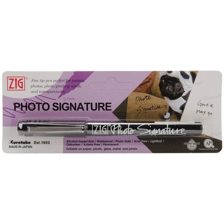Zig Photo Signature Marker
