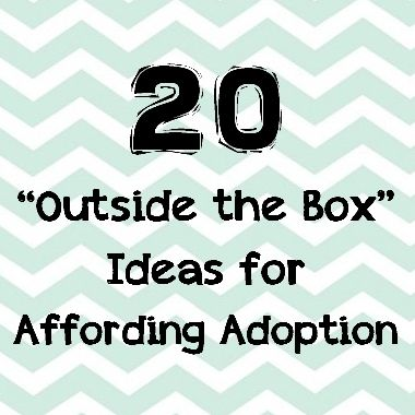 20 unusual ideas to fundraise for your adoption.