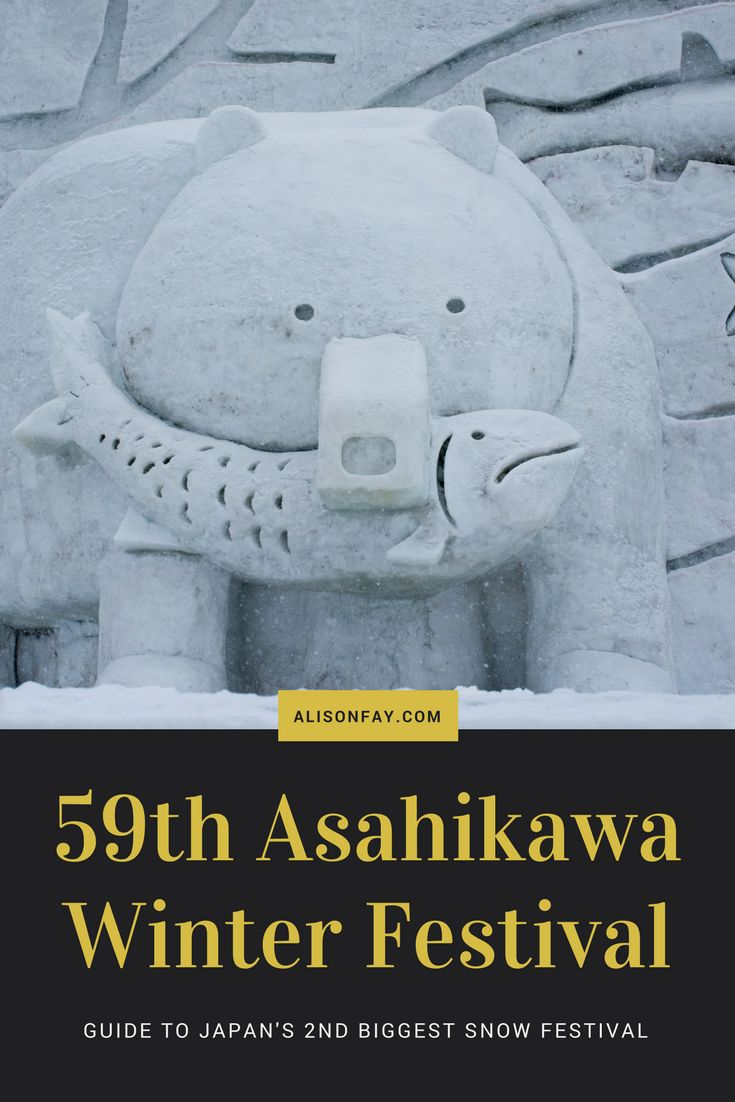 Guide to Japan's Asahikawa Winter Festival 2018