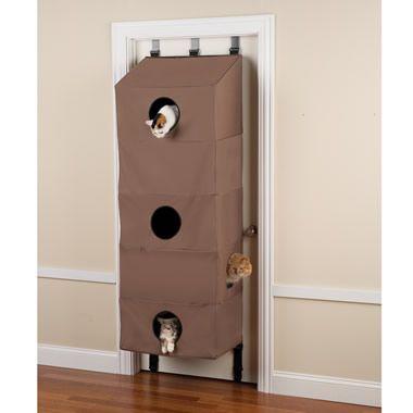 The Over The Door Cat Condo!!