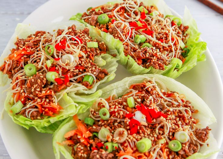 Beef San Choy Bow Weight Loss Recipe