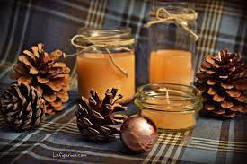 Risultati immagini per addobbi natalizi fai da te vasi vetro