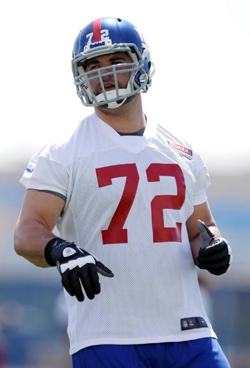 New Faces at Giants Training Camp - Justin Pugh