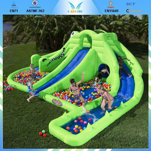Inflatable Water Slide Usa: 1000+ Images About Fun Water Slides On Pinterest