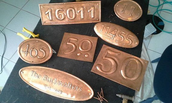Most Recent Pics Copper House Numbers Suggestions Property Owners Do Not Generally Evaluate The House Numbers Visib Copper House House Numbers Copper