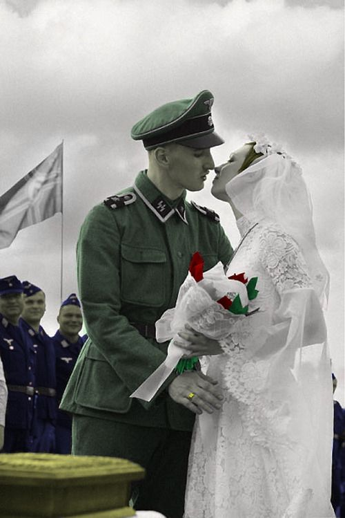 38 Best 40s Wedding Images On Pinterest 1940s Wedding