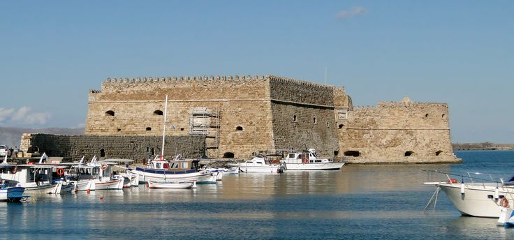 The Venetian Fortress of Koules at #Heraklion. #CretaBeach #Attractions