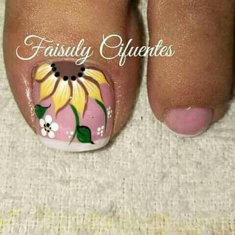Toe nail art design | nail art design ideas