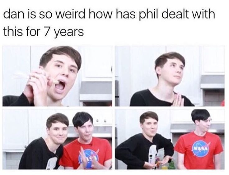 What if he isn't dealing with it? What if he is forced to? After all, he was already kidnapped once by Dan.  *Commence operation rescue Phil from Dan*