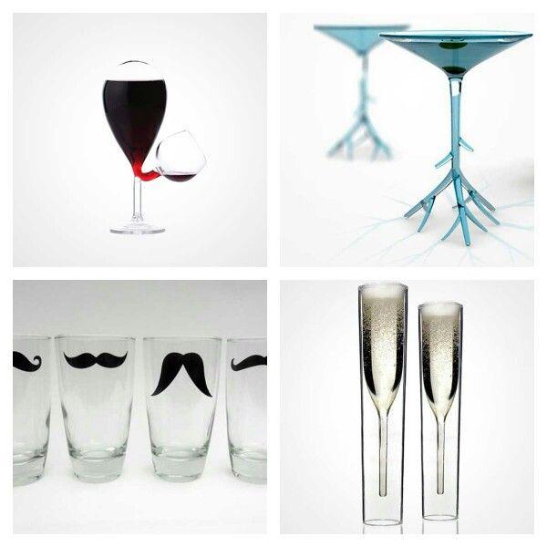 Fíjate que vasos tan tan chulos #menaje #decoracion