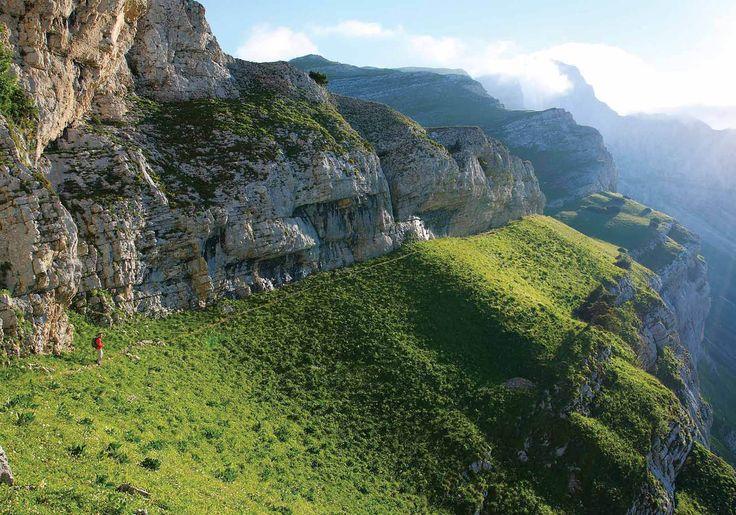 Het massief van de Vercors is misschien wel een van de meest pure plekken van Frankrijk. Het bergplateau ten zuidwesten van Grenoble is deels onbewoond en