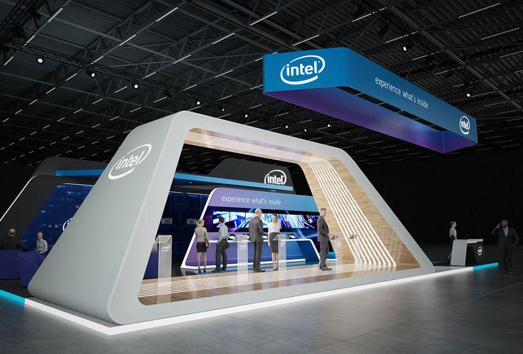 Modern Exhibition Stand Mixer : Intel exhibition stand design gm