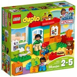 LEGO DUPLO Town 10833, Förskola