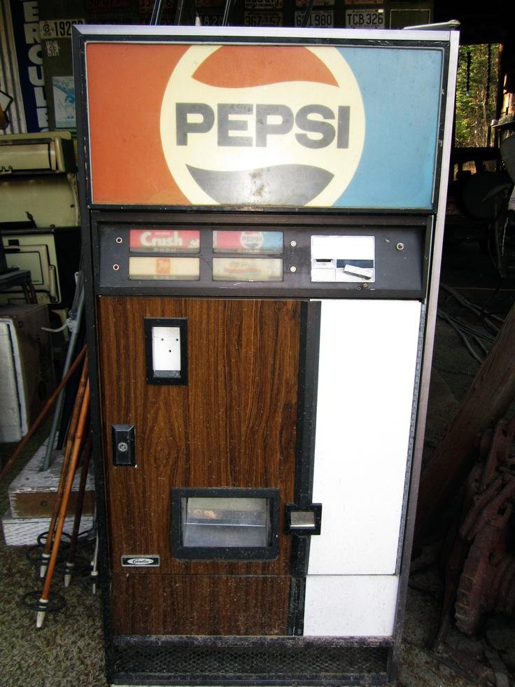 old pepsi vending machine nostalgic pinterest vending machine pepsi and the o 39 jays. Black Bedroom Furniture Sets. Home Design Ideas