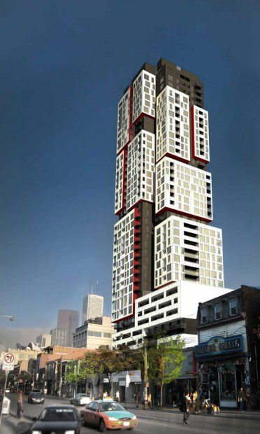 National Post Article    'Picasso' condo a vertical landscape of cubist forms that appear to float    By Suzanne Wintrob