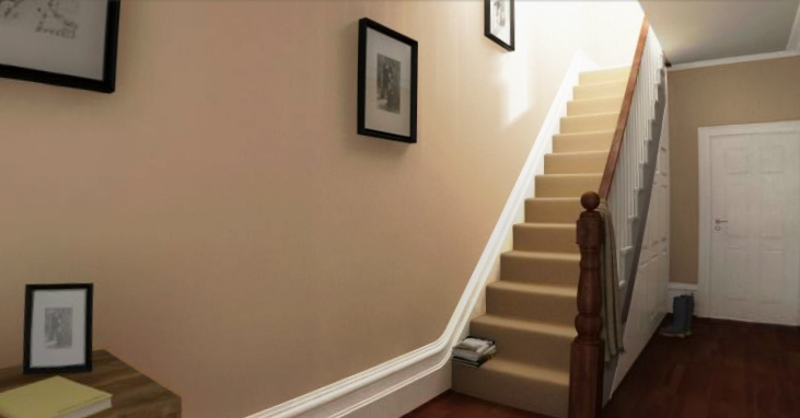Crown paint taupe mid for the hallway now i like this - Crown paint colours for living room ...